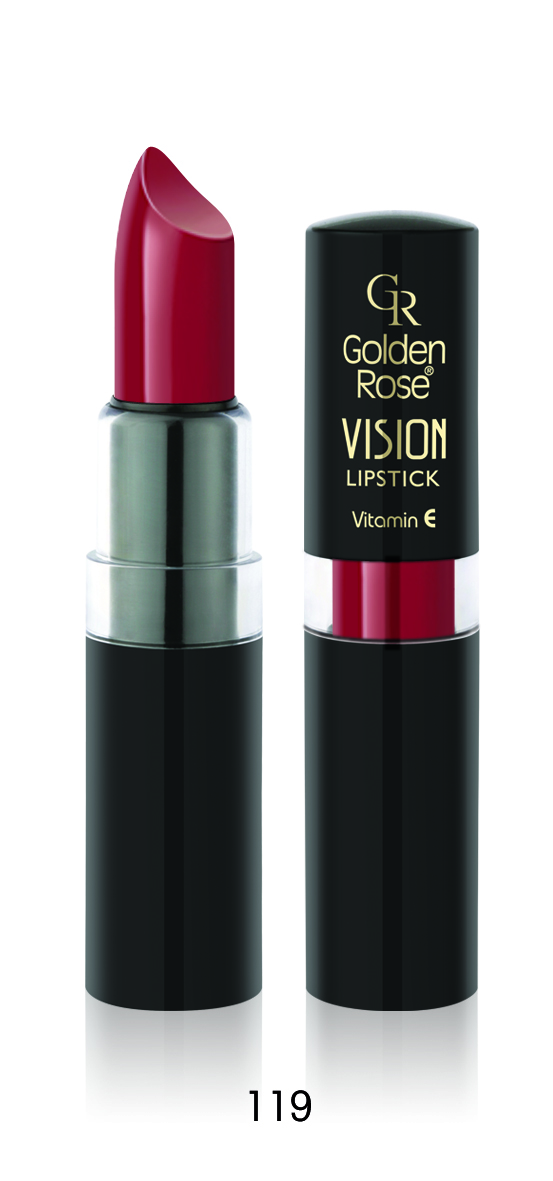 Golden Rose - Pomadka Vision Lipstick nr 119