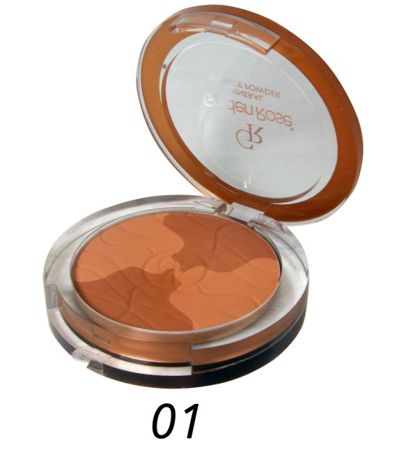 Golden Rose - Puder Mineral Bronze Powder nr 1