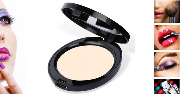 Golden Rose- True Matte Pressed Powder