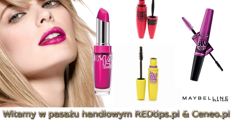Maybelline - mascara i tusz do rzęs